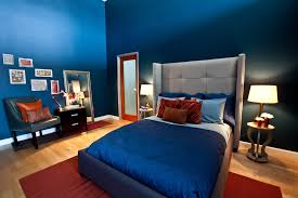 Modern Bedroom Blue Wall Bedroom Contemporary Blue Bedroom Decorations Blue Paint