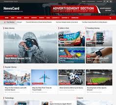 Website Template Newspaper 30 Best Free News Wordpress Themes 2019