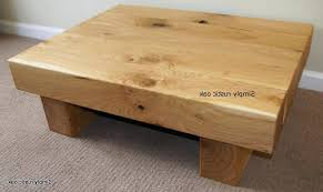 rustic solid oak coffee table coffee table rustic coffee table solid wood under professional design solid