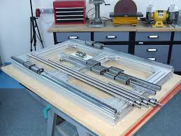 diy cnc router projects. build thread cnc router , aluminum frame pics only . diy projects