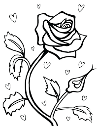 heart and rose coloring pages heart and roses coloring pages roses and hearts coloring pages coloring