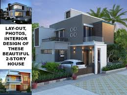 Two Story House Plans Series  PHP2014012  Pinoy House Plans Two Storey Modern House Designs
