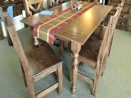 full size of round dining table oak legs chunky unfinished farmhouse concrete wood room kitchen marvellous