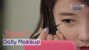 kstyle tv jisook daily idol makeup tutorial you