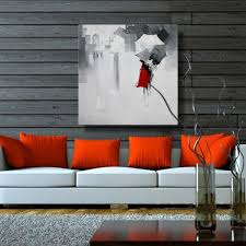 100 handmade oil painting on canvas abstract modern beautiful red lady girl with umbrella wall art for home decoration no frame in painting calligraphy  on girl with umbrella wall art with 100 handmade oil painting on canvas abstract modern beautiful red