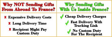 send birthday gift to france
