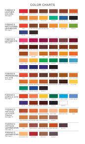 Fiebings Suede Dye Color Chart Fiebings Leather Dye Color Chart Leather Furniture