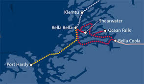 discovery coast connector bc ferries british columbia ferry Bc Ferries Map discovery coast connector route map click to view summer schedule bc ferry map