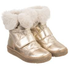 missouri girls fur lined leather boots childrensalon