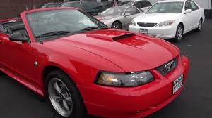 2004 Ford Mustang 4.6 GT Convertible 40th Anniversary Edition ...