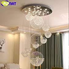fumat crystal k9 ceiling pendant lamps