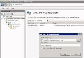 windows server 2003 and iis 7 0