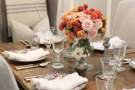 Flower Arrangements For Dining Room Table Dining Room Cool Image Of Dining Room Decorating Design Ideas