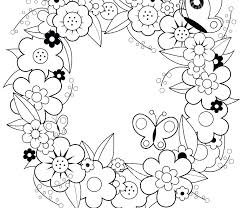 Christmas Wreath Coloring Pages For Adults With Autumn