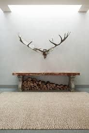 antler rug array light draws on kellys interest in bold materials and unusual markings the pattern antler rug
