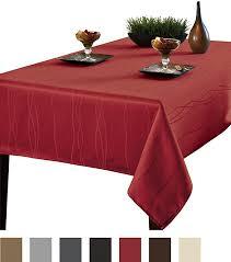 benson mills gourmet spillproof fabric tablecloth rio red 60 x 84 b01honb4h8