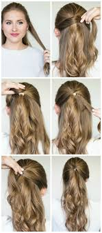 Very Easy Cute Hairstyles 25 Best Ideas About Fancy Ponytail On Pinterest Wedding
