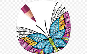 Online coloring pages for kids and parents. Adult Coloring Book Stress Relieving Patterns Mobile App Coloring Pages Apps Animal Coloring Pages Png 512x512px