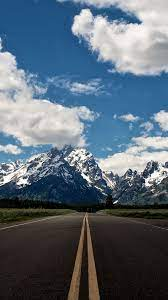 Mountain road nature wallpaper for ...