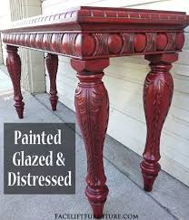 Best 25 Red distressed furniture ideas on Pinterest