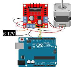 arduino stepper l298n 01
