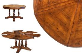 round to round jupe style dining room table