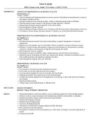 Nhs Resume Examples Professional Business Analyst Resume Samples Velvet Jobs