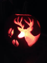 Hunting Pumpkin Carving Pattern Magnificent Inspiration Ideas