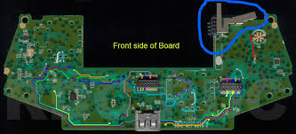 pcb what type of antenna does the xbox one controller use and how xbox one fan wiring diagram front side with antenna