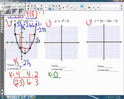 chic algebra 2 quadratic equations graphing on algebra 2 graphing quadratic functions worksheet free worksheets