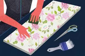how to decorate furniture. 4 Pre-Cut Wallpaper And Apply How To Decorate Furniture D