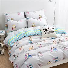 owl comforter set king kids girls bedding queentwin size 3d fringe cartoon 11