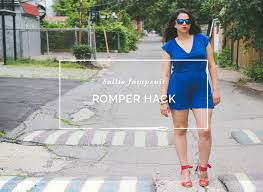 Women's Romper Pattern Amazing TURN THE SALLIE JUMPSUIT INTO A ROMPER PATTERN