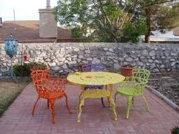 Backyard Design Cast Iron High Top Patio Table Set  CarolbaldwinWrought Iron Outdoor Furniture Clearance