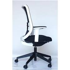 white frame office chair. orangebox do white frame office chair o