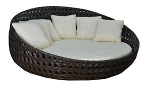 Round Outdoor Bed Creative Of Round Outdoor Daybed With Cove Retractable Sun Cover N