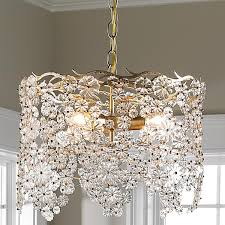 kitchen winsome drum chandelier with crystals 27 lamp shades shade crystal modernhts bronze clip on black