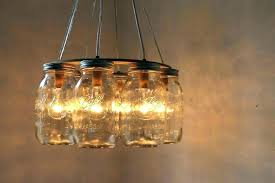 awful hanging mason jar chandeliers hanging mason jar sconces with lights diy