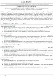 Sample Resume For Production Manager Manufacturing Production ...