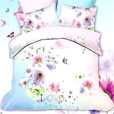 Butterfly And Flowers 3d Daisy Bedding Set Queen Size Bright Color ... & Butterfly And Flowers 3d Daisy Bedding Set Queen Size Bright Color Cotton  Printed Home Textile Quilt Cheap Cot Bumper And Quilt Sets Inexpensive Quilt  ... Adamdwight.com