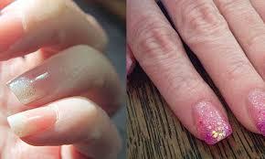 easiest diy acrylic nails