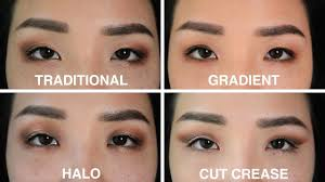 4 eye makeup looks on epicanthic folds asian eyes