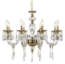 Afaura 4 Light Crystal Chandelier Amelia Traditional Chandeliers By Aves International Llc