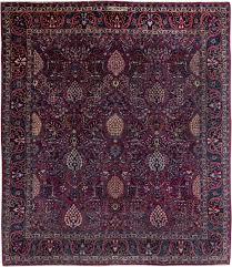 antique persian tabriz park silk carpet bb6375