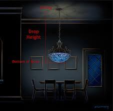 chandelier hanging options
