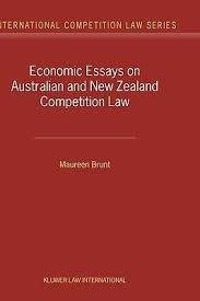 economic essays on n and competition law  economic essays on n and competition law maureen brunt 9789041119919