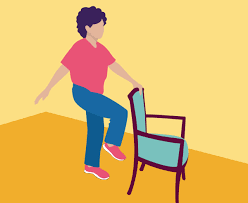 it s best to start off with a simple balance exercise for seniors here s how you do this one stand behind a steady solid chair not one with wheels