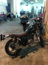 suzuki gn125 cafe racer mod 3 5k cash incentive eligible motorbikes motorbikes cl 2b on carousell