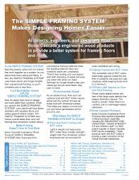 Western Engineered Wood Products Specifier Guide Pages 1