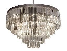 g7 1157 17 gallery closeout palladium crystal glass fringe chandelier chandeliers lighting